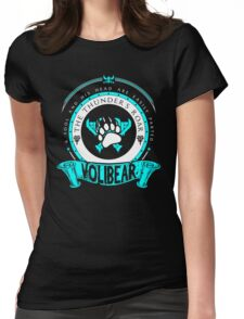 Volibear - The Thunder's Roar Womens Fitted T-Shirt