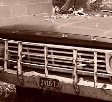 Old Ford Truck - Original Sepia Tone Photograph by GeminiMoon