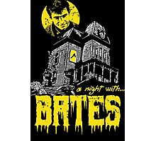 A night with Bates Photographic Print