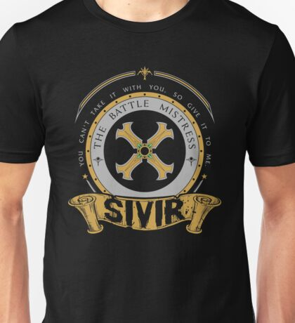 Sivir - The Battle Mistress Unisex T-Shirt