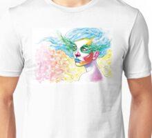 Blue Hair 2 Unisex T-Shirt