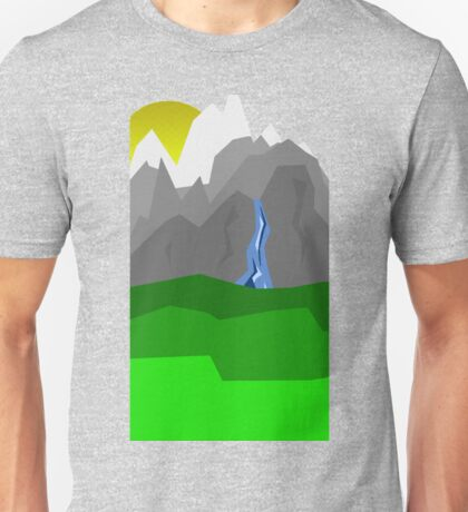 Nature and Mountains Unisex T-Shirt