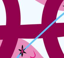 Pisces Star&Sign Sticker
