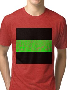 Clean Stripe (Neon) Tri-blend T-Shirt