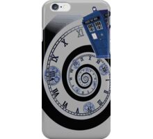 The Twelfth Doctor - time spiral (no white outline) iPhone Case/Skin