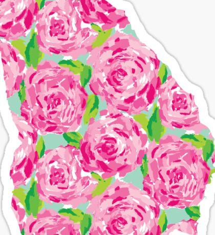 Georgia Lilly Pulitzer Sticker