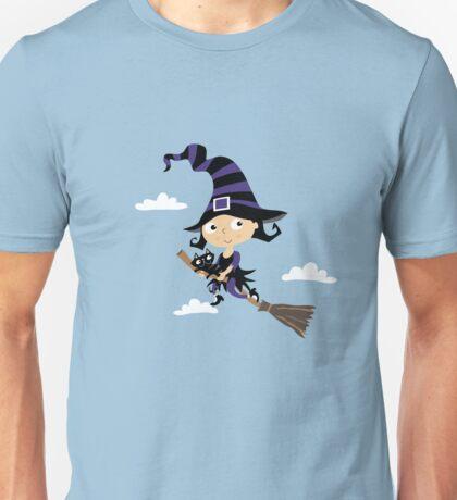 Kleine nette Hexe - Cute Little Witch Unisex T-Shirt