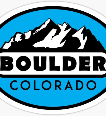 SKIING BOULDER COLORADO MOUNTAINS SKI SNOWBOARD HIKING CLIMBING Sticker