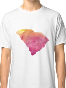 South Carolina Watercolor Classic T-Shirt