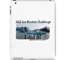 ALS Ice Bucket Challenge  iPad Case/Skin