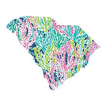 South Carolina Lilly Pulitzer Photographic Print