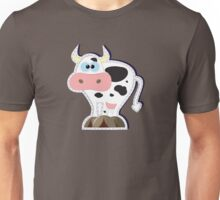 funny cow Unisex T-Shirt