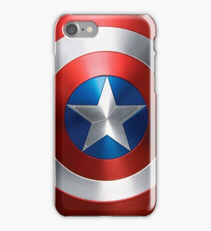 Marvel Captain America Shield  iPhone Case/Skin