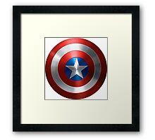 Marvel Captain America Shield  Framed Print