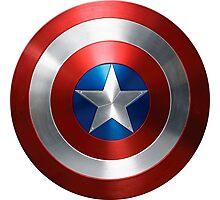 Marvel Captain America Shield  Photographic Print