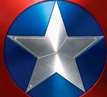 Marvel Captain America Shield  Sticker