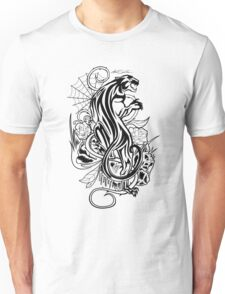 Panther - Black & White T-Shirt