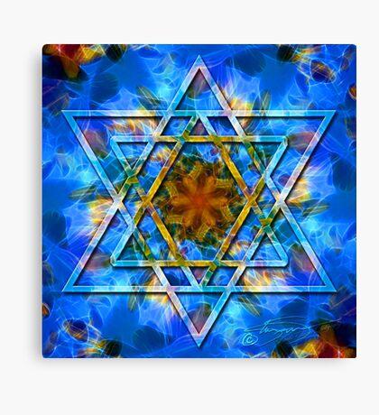 The Star -The Spiritual Symbols Collection  Canvas Print