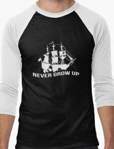 Peter Pan - Never grow up Men's Baseball ¾ T-Shirt