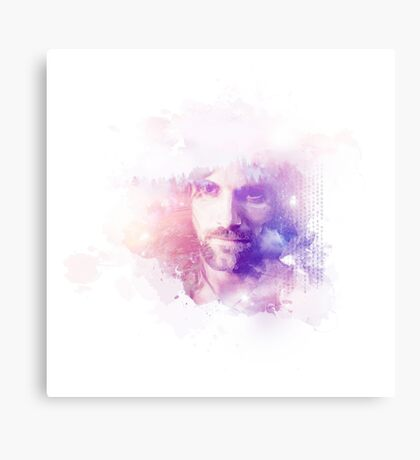 Aragorn Watercolor Splash Art Canvas Print