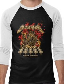 Metallica - Metal Slug  Men's Baseball ¾ T-Shirt