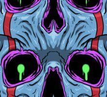 Twin Skull Sticker