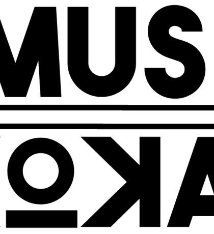 MUSKOKA Square Logo Sticker