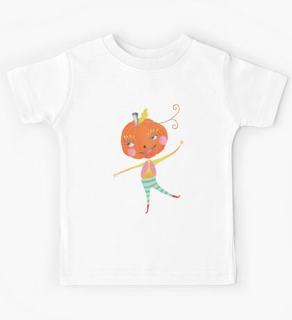 Pumpkie doesn't want to be a pie Kids Tee