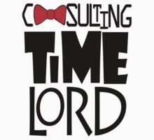 Consulting Time Lord Kids Clothes