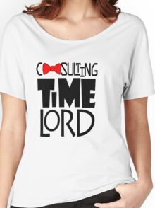 Consulting Time Lord Women's Relaxed Fit T-Shirt