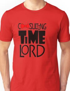 Consulting Time Lord Unisex T-Shirt