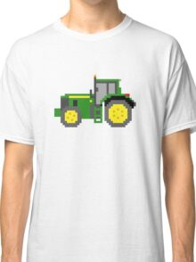 Tractor #2 - The Kids' Picture Show - Pixel Art Classic T-Shirt