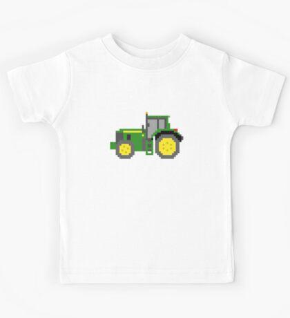 Tractor #2 - The Kids' Picture Show - Pixel Art Kids Tee