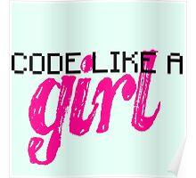 Code Like A Girl Poster