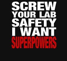 Wish I had Super Powers Mens V-Neck T-Shirt