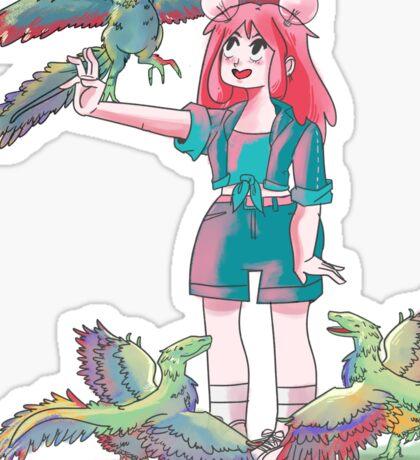 Dinosaur party! Sticker