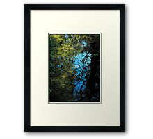Looking back across the years..the good times and the bad..all echo in my mind..Whispered on a breeze..sweet and bitter memories..of all I left behind.. Framed Print