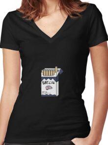 Sherlock Holmes - Shezza Women's Fitted V-Neck T-Shirt