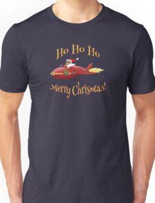Supersonic Santa Unisex T-Shirt