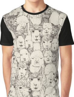 just alpacas natural Graphic T-Shirt