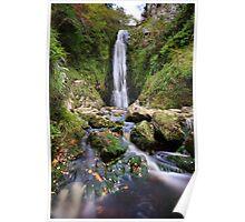 Glenevin Waterfall Poster
