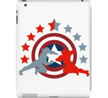 Fight never ends iPad Case/Skin