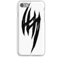 Jin Kazama's Tattoo - Black Edition iPhone Case/Skin