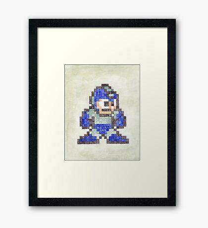Mega Man Framed Print