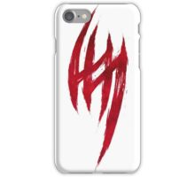 Jin Kazama's Tattoo - Blood Edition iPhone Case/Skin