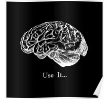 Brain Anatomy - Use It Poster