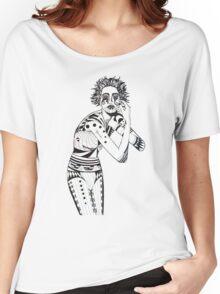 AQUARIUS Women's Relaxed Fit T-Shirt