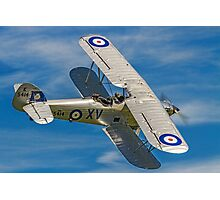 Hawker Hind K5414/XV G-AENP banking Photographic Print