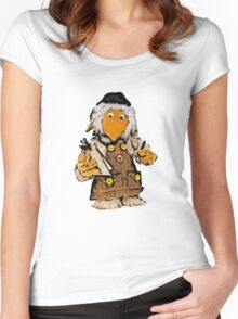Womble Tobermory Women's Fitted Scoop T-Shirt