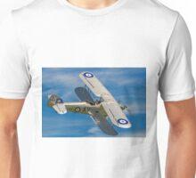 Hawker Hind K5414/XV G-AENP banking Unisex T-Shirt